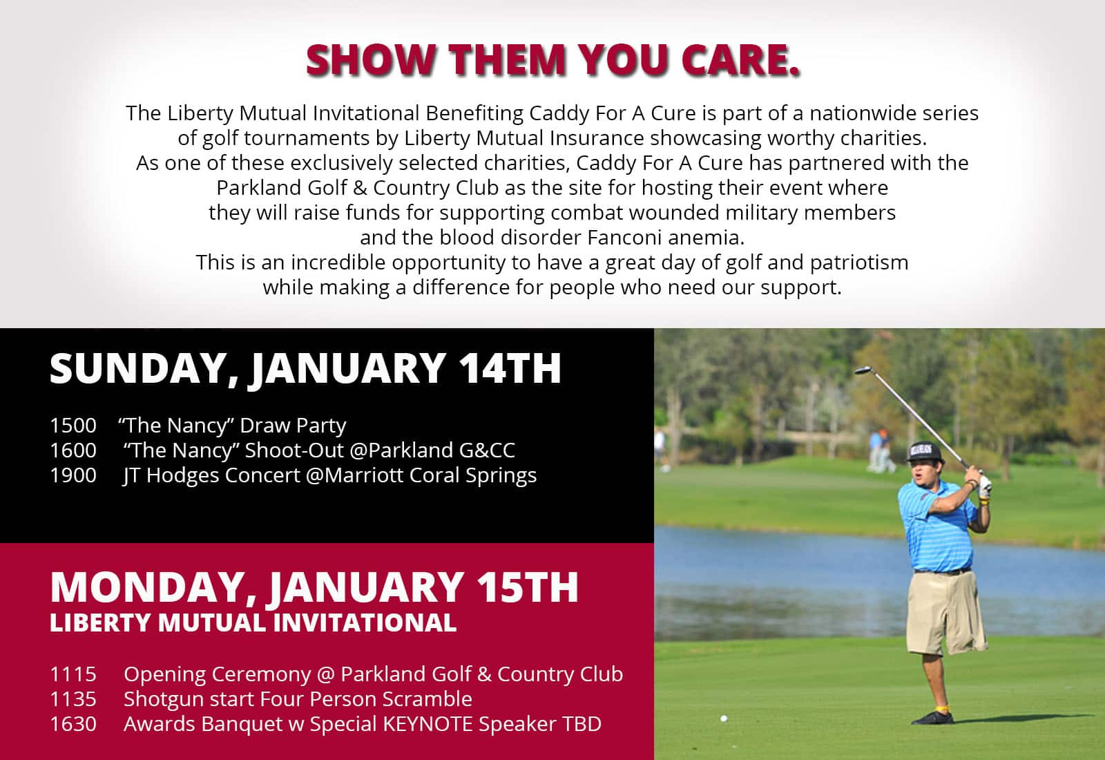 Liberty mutual insurance invitational caddy for a cure publicscrutiny Choice Image