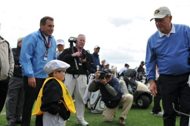 Jack Nicklaus w Christian Collins Meeting
