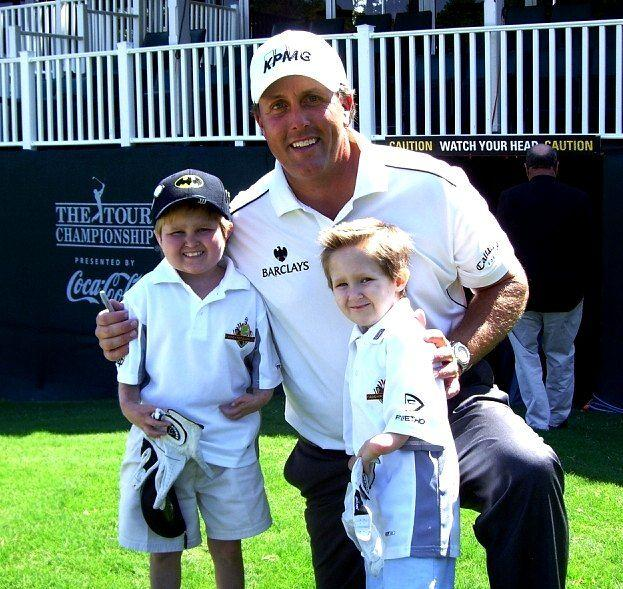 Phil Mickelson w Christian Collins